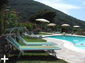 Elba Island, Da Angiolina: Bed & Breakfast, Rooms with swimming pool