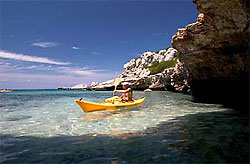 Sport on the island of Elba: kayak